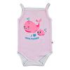 Summer Baby Girl Cute Whale Bodysuit