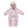 Astronaut Snowsuit Baby Girl Romper