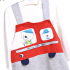 Baby Boy Firefighters Dungarees Set