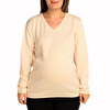 V Neck Comfy Maternity Knit Jumper