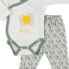 Baby Friendly Sun Bodysuit Footed Pant