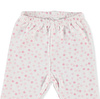 Baby Bow Rabbit Bodysuit Footed Pant