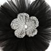 Örgü Çiçek Saç Bandı