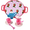 Toys Tea Set with Tray Pink