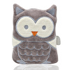 Owl Cherry Stone Filled Pillow For Colic - Grey 0 M+