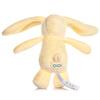 Emzikli Uyku Arkadaşı Beyaz Tavşan Hijyen Kapaklı