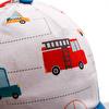 Arabalar Ense Korumalı Erkek Bebek Şapka