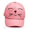 Sevimli Kedicik Kız Bebek Şapka