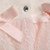 Whale Baby Girl Interlock Short Sleeve Jumpsuit
