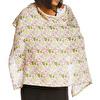 Crown Patterned Muslin Cotton Nursing Breastfeeding Apron