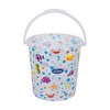 Transparent Patterned Baby Bath Bucket