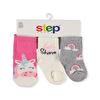 Step SİMLİ  LETS SHINE 3lü Soket Çorap