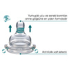 Anti-Colic Valve System PP(Silver) Baby Bottle 250 ml