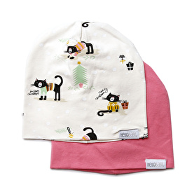 2 Pack Hats For Baby Girls & Baby Boys