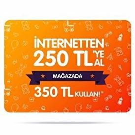 Mağaza Kuponu - İnternetten 250 TL ye Al Mağazada 350 TL Kullan!
