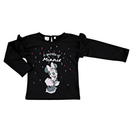 Minnie Mouse Licensed Ruffled Detailed Sweatshirt