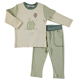 Cold Days Baby Boy Sweatshirt Tousers Set