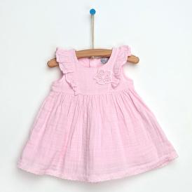 Yaz Kız Bebek Müslin Elbise