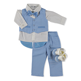 Baby Boy 3-Button Special Day Set