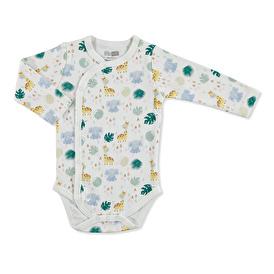 Yaz Erkek Bebek Uzun Kol Zıbın Body