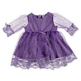 Special Days Long Sleeve Peter Pan Collar Baby Dress