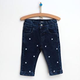 Basic Kalpli Denim Pantolon
