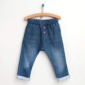 Basic Düğmeli Pantolon