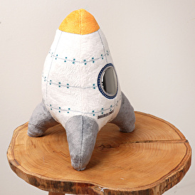 Rocket Baby Toy Pillow