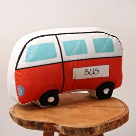 Otobüs Oyuncaklı Yastık