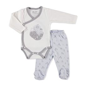 Baby Friends Mountain Bodysuit Footed Pant