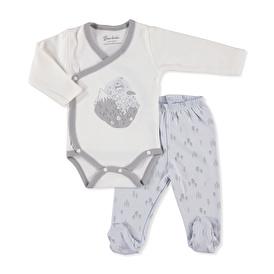 Bebek Arkadaş Dağ Zıbın Body-Patikli Alt
