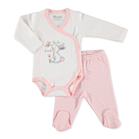 Baby Little Rabbit Bodysuit Footed Pant