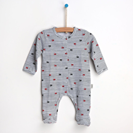 Cars Baby Footed Romper