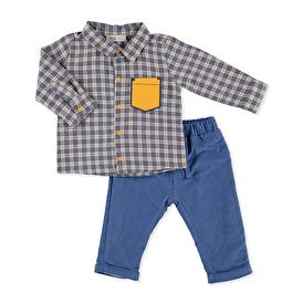 Hellobaby Space Boy Gömlek-Pantolon
