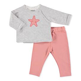 Hellobaby Space Girl Sweatshirt-Pantolon