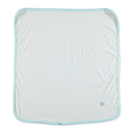 Blue Heart 80x80 Double Layer Blanket