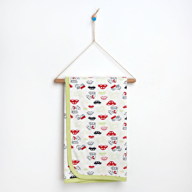 Cars 80X80 Double Layer Blanket