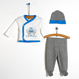 Cool Home Bodysuit-Hat-Footed Bottom