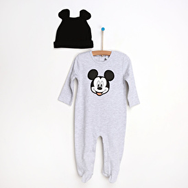 Mıckey Mouse Footed Jumpsuit