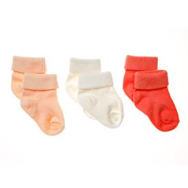 Straight 3-Piece Twisted Socks
