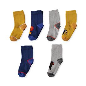 6lı Soket Çorap
