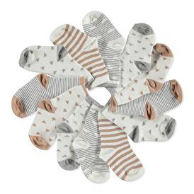 Striped 6 Piece Socks