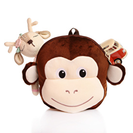 Monkey Baby Backpack