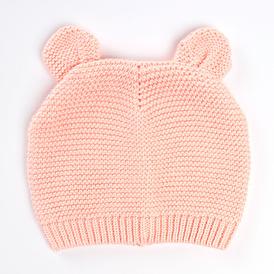 Eared Knitwear Girl Beret
