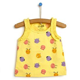 Basic Kız Bebek Atlet Tshirt