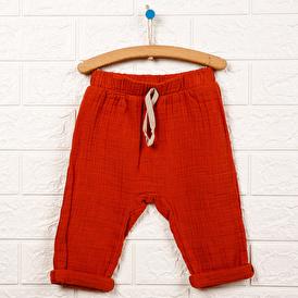 Basic Müslin Pantolon