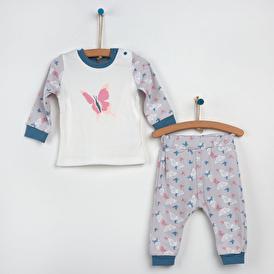 Kelebekli Pijama Takımı