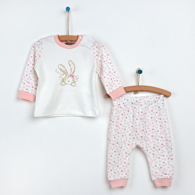 Puanlı Pijama Takımı