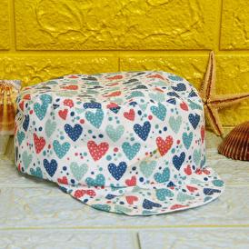 Yaz Kız Şapka Kalp