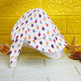 Yaz Kız Şapka Ananas